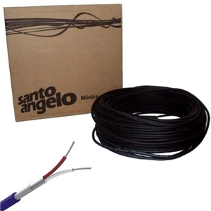 Rolo Cabo Microfone Santo Angelo 100 Metros X30 Profissional