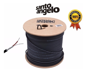 Rolo Cabo Microfone Santo Angelo 500 Metros X30 Profissional