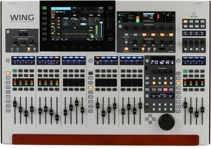 Mesa de Som Digital Behringer Wing 48 Canais 24 Faders Tela Touch