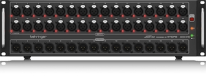 Stage Box Behringer S 32 Conversor Digital 32IN/16OUT Pré Midas