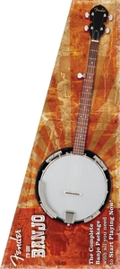Banjo Fender FB 300 Natural Banjo Pack 097 9500 021