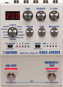 Pedal Boss DD 200 Digital Delay