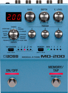Pedal Boss MD 200 Modulation