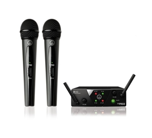 Sistema S/ Fio AKG WMS 40 Mini 2 Vocal