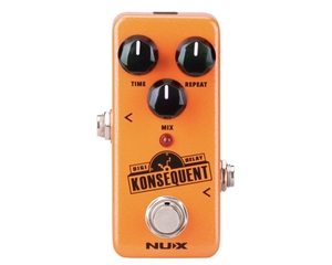 Pedal NUX Mini Konsequent NDD-2 Digital Delay