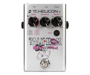 Pedal Talk Box Synth Tc Helicon