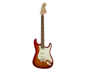 Guitarra Fender Squier  032 1603 Deluxe Stratocaster Cherry Sunburst LTD 530