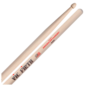 Baqueta Vic Firth American Classic Hickory Extreme X8D Ponta Madeira