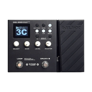 Pedaleira NUX MG 300 para Guitarra c/USB Interface