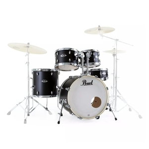 Bateria Pearl Export EXX 705 SP 20/10/12/14/1455S #761 Satin Shadow Black Shell Pack