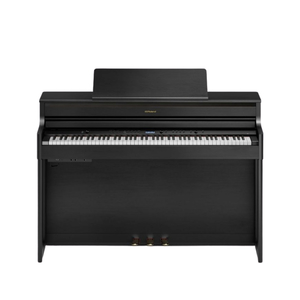 Piano Eletrônico Digital Roland HP704 CH com Estante KSH 704 2CH - Charcoal Black