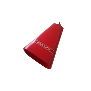 Cowbell Nagano Red Color 9 Pol Csu0002