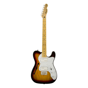 Guitarra Fender 030 1280 - Squier Vintage Modified Telecaster Thinline `72S - 500 - 3-Color Sb
