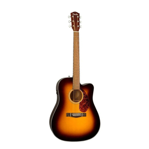Violão Fender 096 2704 - CD 140 SCE -232- Sunburst Com Case