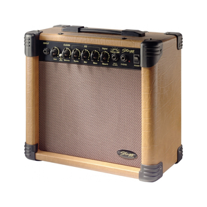 Stagg AA 15 DR Acoustic Combo 15W, 6,5, 3-Band EQ, Reverb