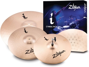 Kit de Pratos Zildjian Ifamily Essentials pack-ILHESSP-13HH+14C+18CR