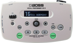 Pedal Boss VE 5 Efeito Voz WH