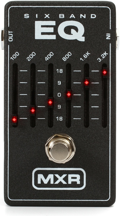 Pedal MXR M 109 Six Band Graphic Equalizer - Musitech