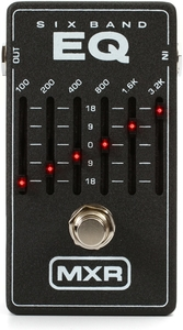 Pedal MXR M 109 Six Band Graphic Equalizer