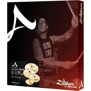 Kit Prato Zildjian A Custom Series A20579 Set 14/16/18/20