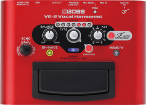 Pedal Boss VE 2 Vocal Harmonist
