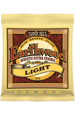 Encordoamento Earthwood 0.11 Aço 2012 Ernie Ball