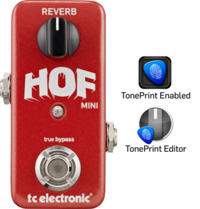 Pedal TC Electronic Hof Mini Reverb