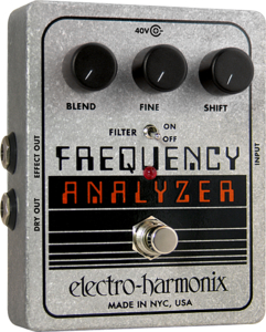 Pedal Electro Harmonix Frequency Analyzer