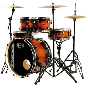 Bateria RMV Cross Road 3T Orange Burst