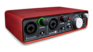 Interface Áudio Focusrite Scarlett 2i2 usb