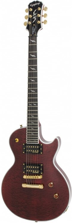 Guitarra Epiphone Les Paul Prophecy Custom Gx Ch To Bk Fade
