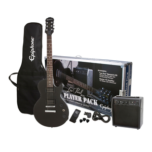 Kit Guitarra Epiphone Les Paul Player Pack Black