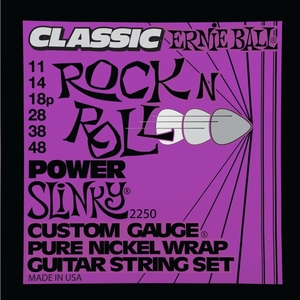 Encordoamento Guitarra Ernie Ball 011 2250 Classic Power Slinky