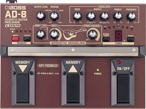 Pedal Acoustic Guitar Processor Boss AD 8