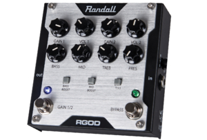 Pedal Randall RGOD 2 Channel Preamp Gain