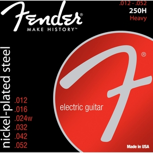 Encordoamento Guitarra Fender 250 H 012-052