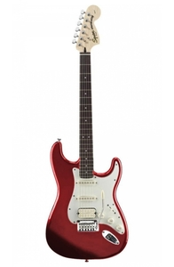 Guitarra Fender Squier 032 1700 509 Standard Fat Stratocaster Candy Apple Red