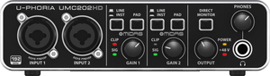 Interface Audio Behringer UMC 202 HD