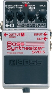 Pedal Boss SYB 5 Bass Synthesizer