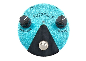 Pedal Dunlop FFM 3 Jimi Hendrix Fuzz Face Mini Distortion