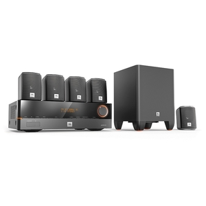 Home Theater JBL Cinema J 5100 Sistema 5.1 375w 110v