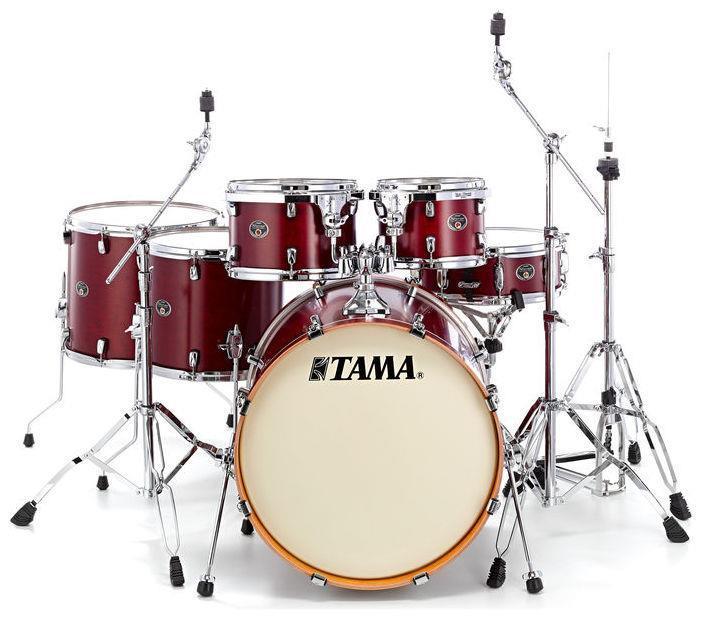 Bateria Acústica Tama Silverstar Vermelha - Vl 62